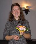 Die Zuhörer dankten Kira Potowski mit herzlichem Beifall