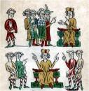 """Der """"Sachsenspiegel"""" aus dem 13. Jahrhundert regelt u.a. das Zusammenleben von Deutschen und Wenden"""