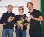 Jörg Endriss, Sonja Maaß, Mirko Schwanitz (von rechts).