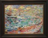Emil Nolde: Frischer Tag am Meer 1906
