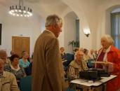 Manfred Dietrich erzählt beim Hoyerswerdaer Kunstverein seit vielen Jahren über die Geschichte Europas und die Schönheit der jeweiligen Landschaft