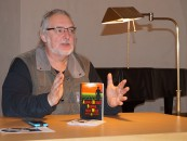 Uwe Jordan, 2019 beim Hoyerswerdaer Kunstverein