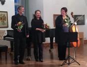 Von links: Jürgen Dietze, Fumiko Takano, Anna Niebuhr.