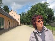Mit dem Kunstverein in Schloss und Park Branitz 2010