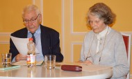 Ingrid Tempel und Heinz-Dieter Tempel gestalten einen Abend zu Albert Schweitzer