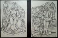 Barbara Seidl-Lampa: Zeichnungen nach Dürer