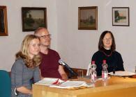 Róža Domašcyna, Uwe Salzbrenner und Andra Schwarz, von rechts.