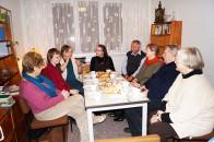 Brigitte-Reimann-Begegnungsstätte, hier mit Gästen aus Burg, der Geburtsstadt von Brigitte Reimann.