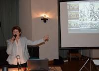 Christine Neudeck beim Hoyerswerdaer Kunstverein zum Thema: Die Geschichte Sachsens in Historien-Bildern