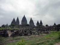 Hinduistischer Tempel in Prambanan in Indoneseien