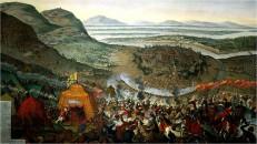 Die Türken vor Wien, Georg III., der Großvater von Friedrich August dem Starken, war maßgeblich an den Kämpfen beteiligt.