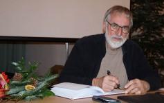 Erich Busse zum Vortrag beim Hoyerswerdaer Kunstverein. 2019