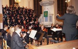 Kantorei Löbau, Oratorienchor Hoyerswerda, Neue Lausitzer Philharmonie, Dirigent KMD Christian Kühne
