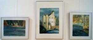 """Britta Kayser """"Wasserschloss"""" mit """"Futterstelle"""" und """"Gewässerrand"""""""